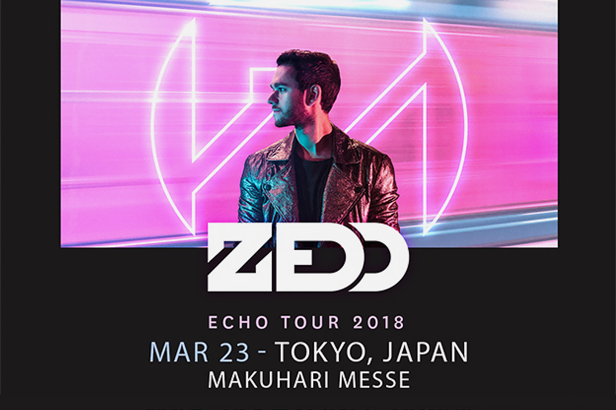 ZEDD ECHO TOUR 2018 at 幕張メッセ